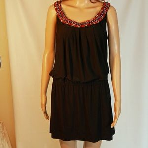 White House Black Market Beaded Dress or Tunic